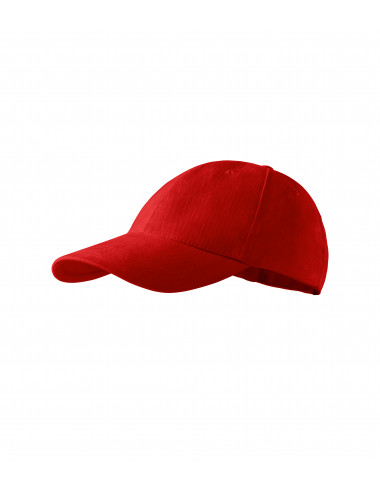 Adler MALFINI Czapka dziecięca 6P Kids 303 czerwony