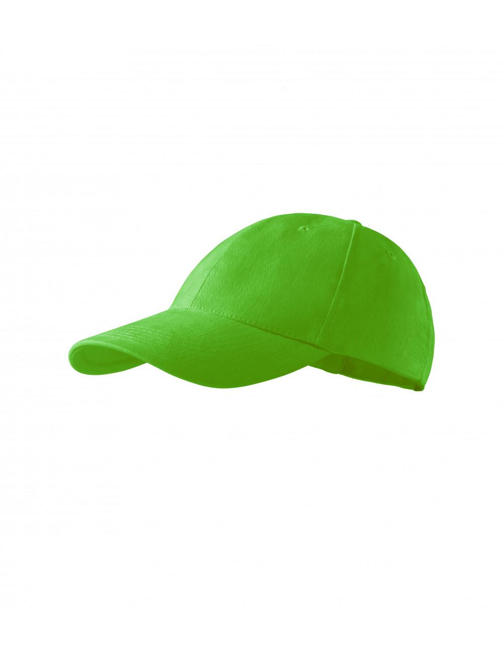 Adler MALFINI Czapka dziecięca 6P Kids 303 green apple
