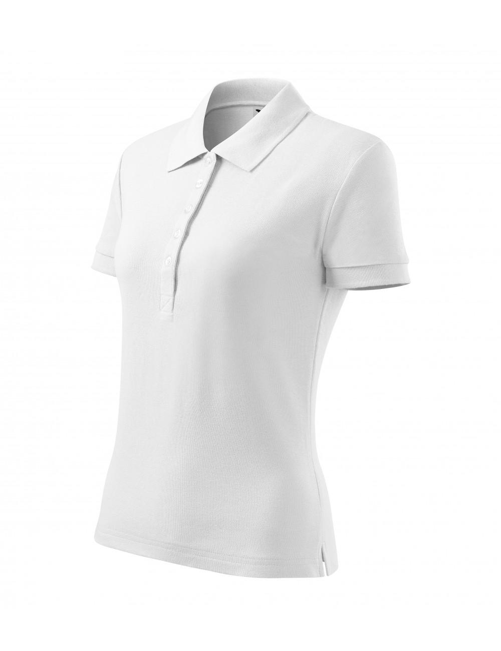 Adler MALFINI Koszulka polo damska Cotton Heavy 216 biały