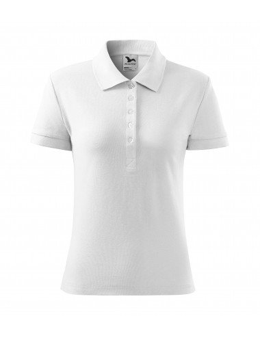 2Adler MALFINI Koszulka polo damska Cotton Heavy 216 biały