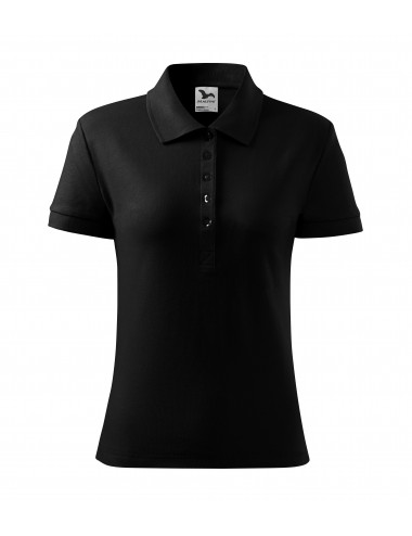 2Adler MALFINI Koszulka polo damska Cotton Heavy 216 czarny