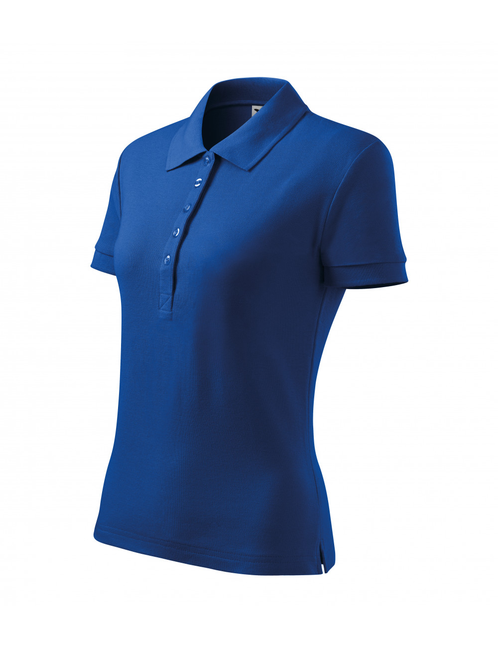 Adler MALFINI Koszulka polo damska Cotton Heavy 216 chabrowy
