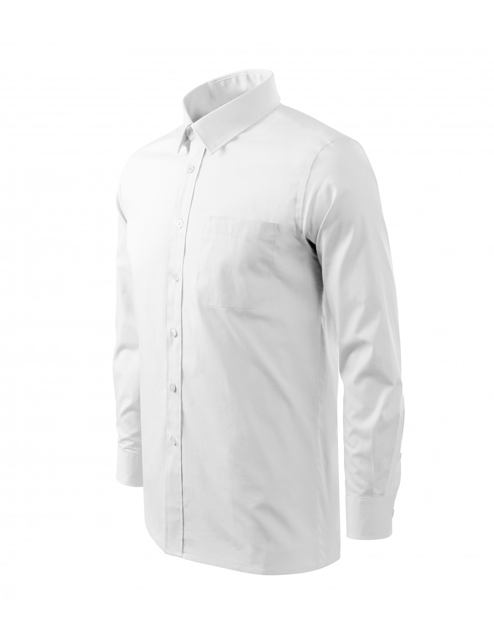 Adler MALFINI Koszula męska Style LS 209 biały