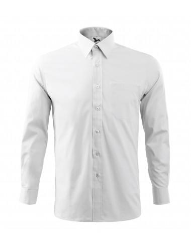 2Adler MALFINI Koszula męska Style LS 209 biały