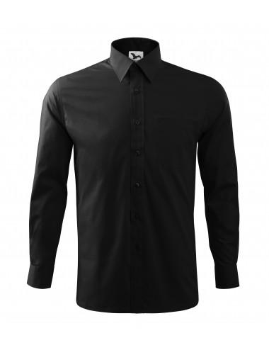 2Adler MALFINI Koszula męska Style LS 209 czarny