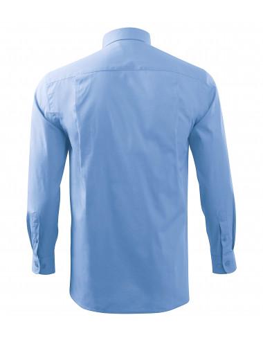 2Adler MALFINI Koszula męska Style LS 209 błękitny