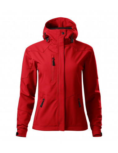 2Adler MALFINI Softshell kurtka damska Nano 532 czerwony