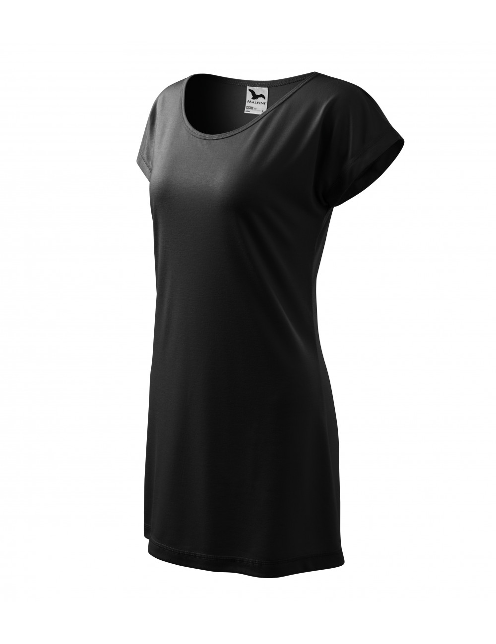 Adler MALFINI Koszulka/sukienka damska Love 123 czarny