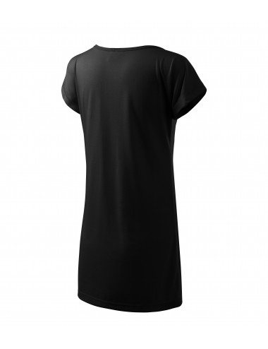 2Adler MALFINI Koszulka/sukienka damska Love 123 czarny