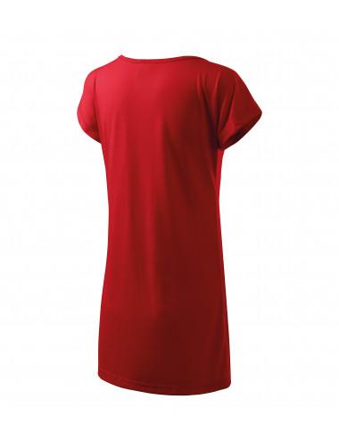 2Adler MALFINI Koszulka/sukienka damska Love 123 czerwony