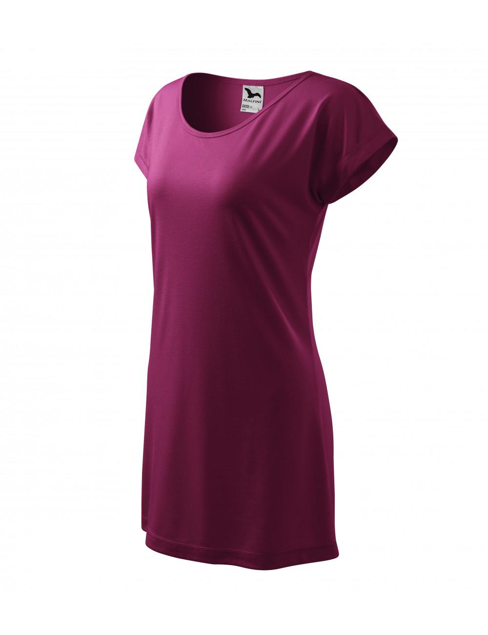 Adler MALFINI Koszulka/sukienka damska Love 123 uksjowy