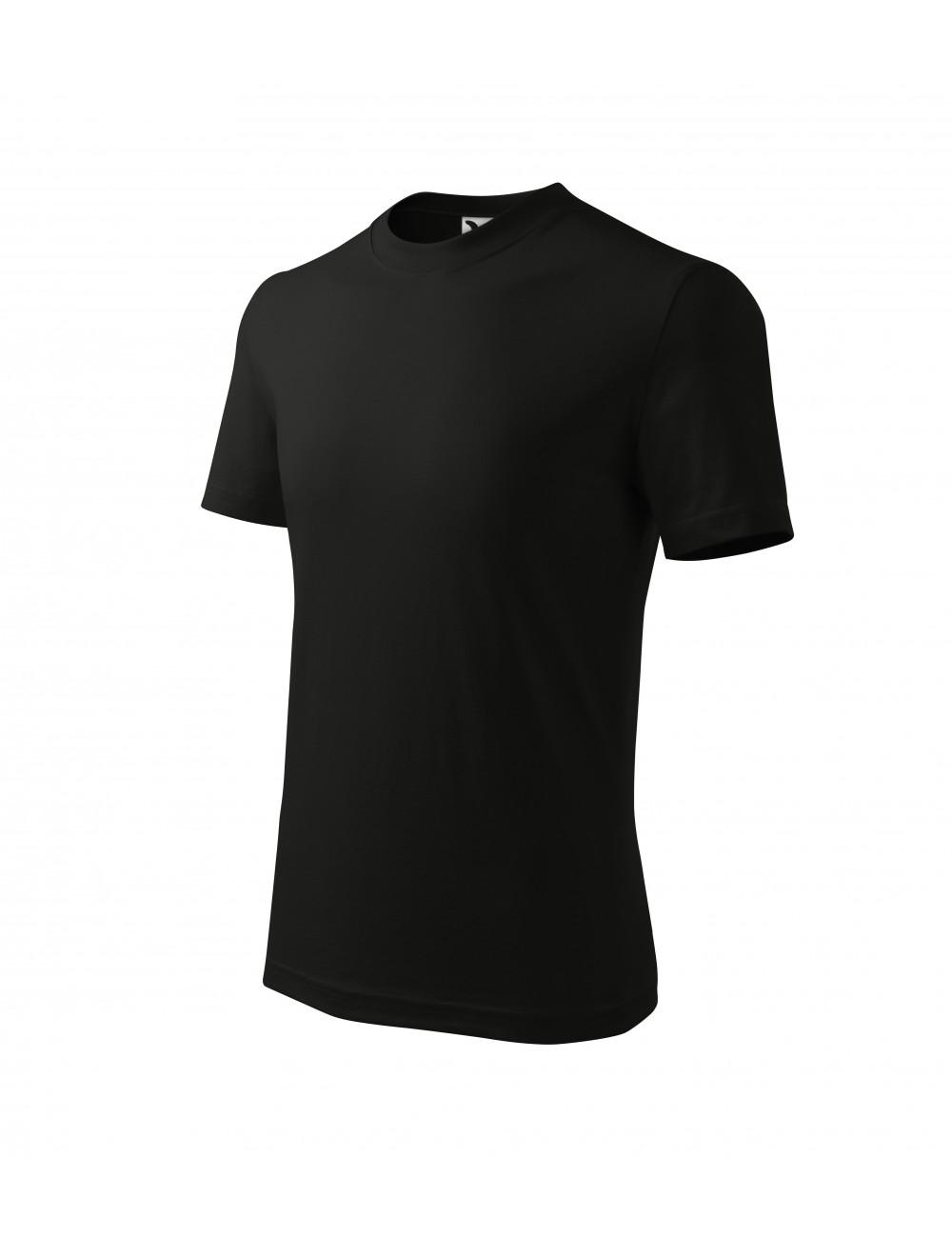 Adler MALFINI Koszulka dziecięca Classic 100 czarny
