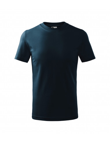 2Adler MALFINI Koszulka dziecięca Classic 100 granatowy