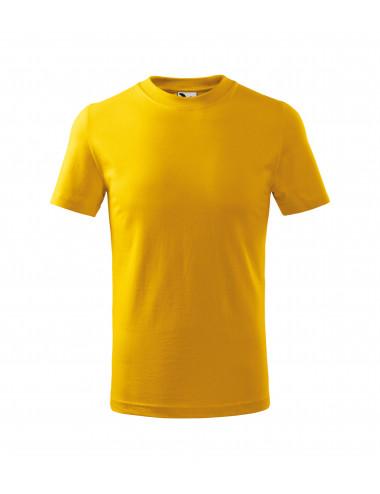 2Adler MALFINI Koszulka dziecięca Classic 100 żółty