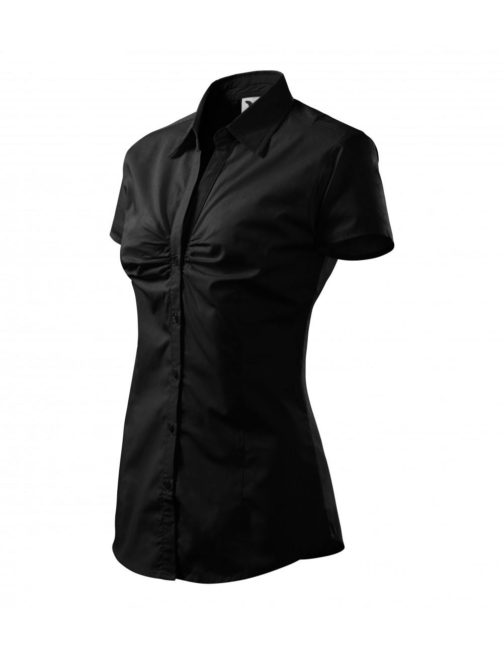 Adler MALFINI Koszula damska Chic 214 czarny