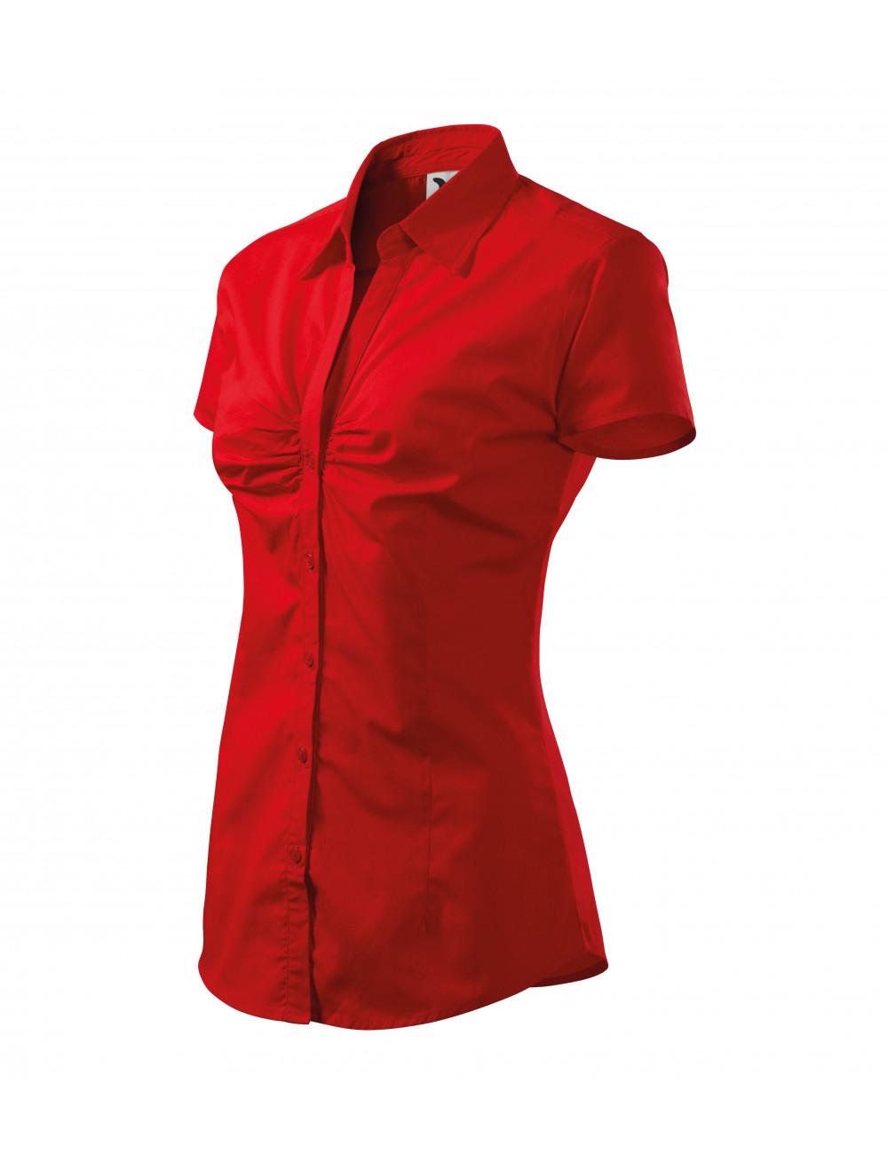 Adler MALFINI Koszula damska Chic 214 czerwony