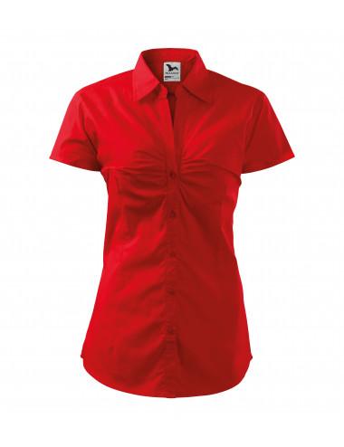 2Adler MALFINI Koszula damska Chic 214 czerwony