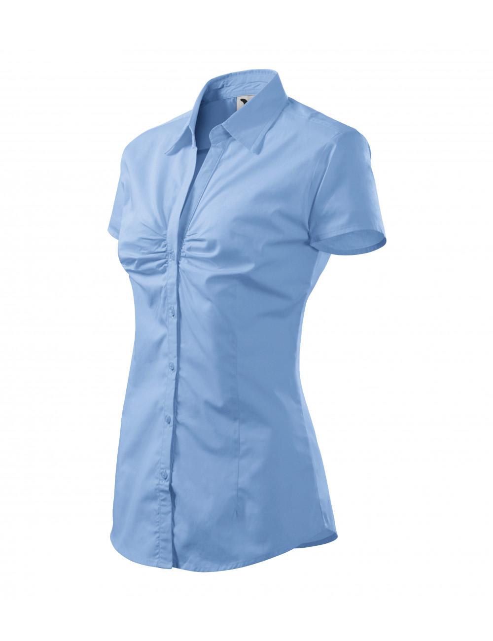 Adler MALFINI Koszula damska Chic 214 błękitny