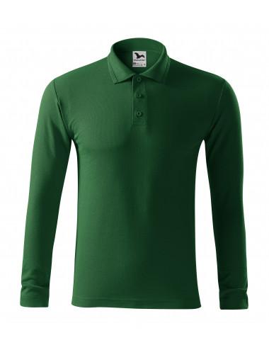 2Adler MALFINI Koszulka polo męska Pique Polo LS 221 zieleń butelkowa