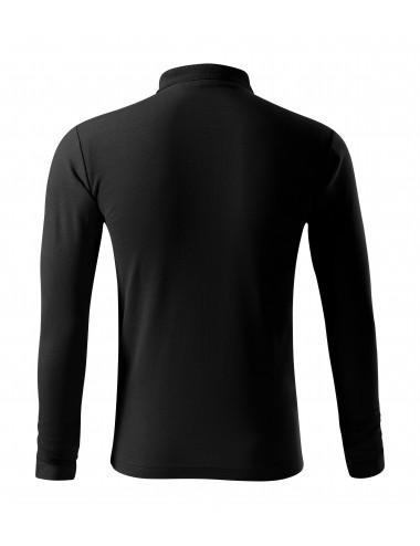 2Adler MALFINI Koszulka polo męska Pique Polo LS 221 czarny