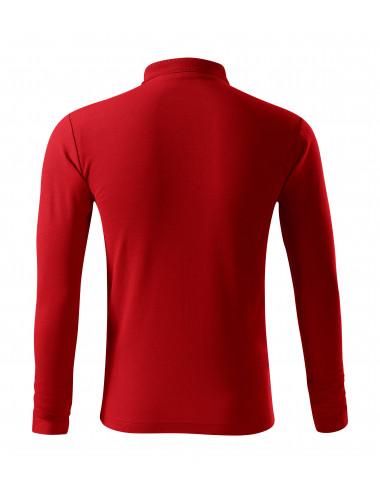 2Adler MALFINI Koszulka polo męska Pique Polo LS 221 czerwony