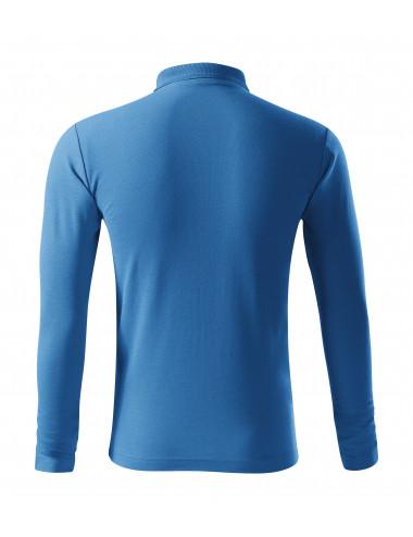 2Adler MALFINI Koszulka polo męska Pique Polo LS 221 lazurowy