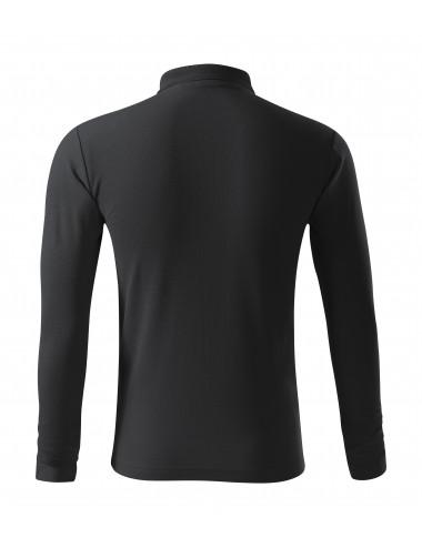 2Adler MALFINI Koszulka polo męska Pique Polo LS 221 ebony gray
