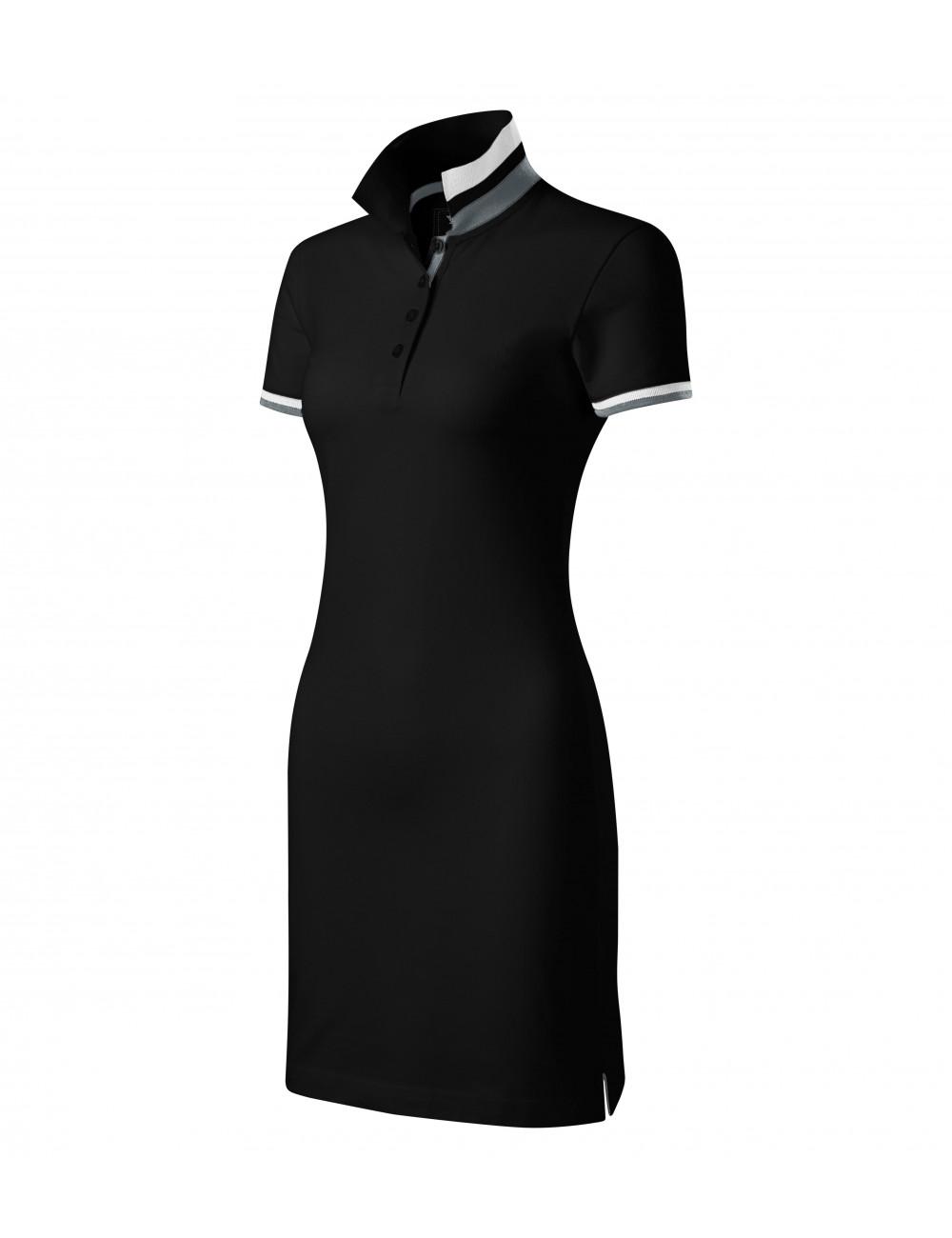 Adler MALFINIPREMIUM Sukienka damskie Dress up 271 czarny