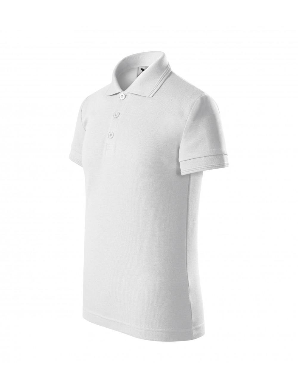 Adler MALFINI Koszulka polo dziecięca Pique Polo 222 biały