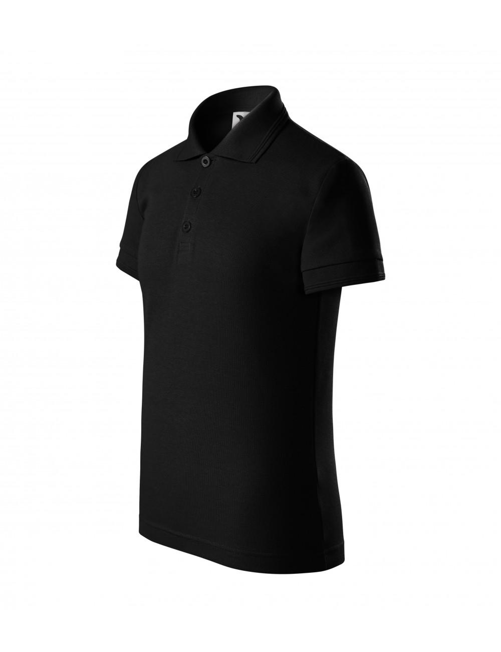 Adler MALFINI Koszulka polo dziecięca Pique Polo 222 czarny