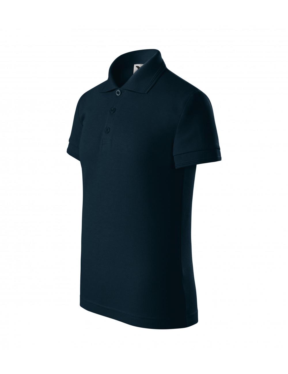 Adler MALFINI Koszulka polo dziecięca Pique Polo 222 granatowy