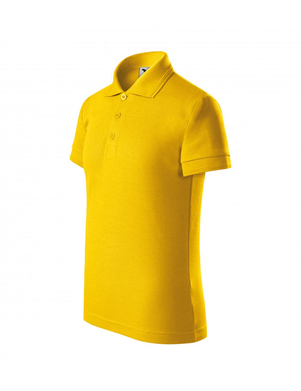 Adler MALFINI Koszulka polo dziecięca Pique Polo 222 żółty