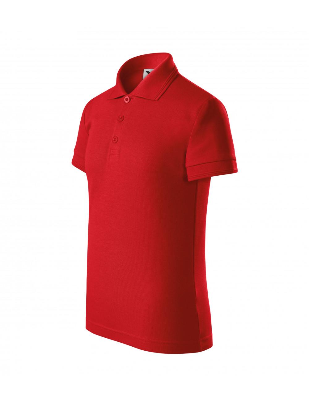 Adler MALFINI Koszulka polo dziecięca Pique Polo 222 czerwony