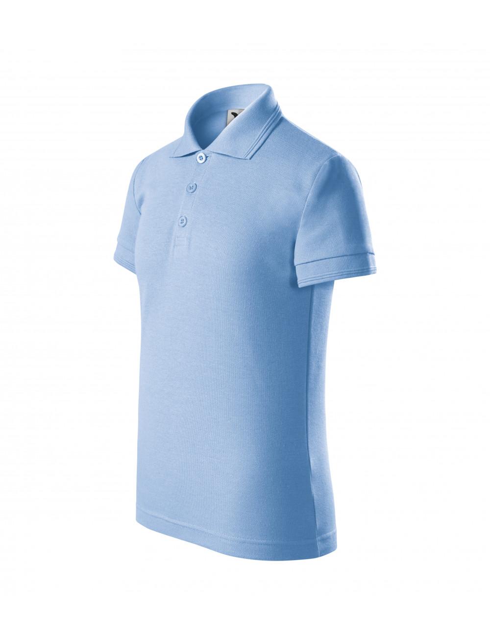 Adler MALFINI Koszulka polo dziecięca Pique Polo 222 błękitny