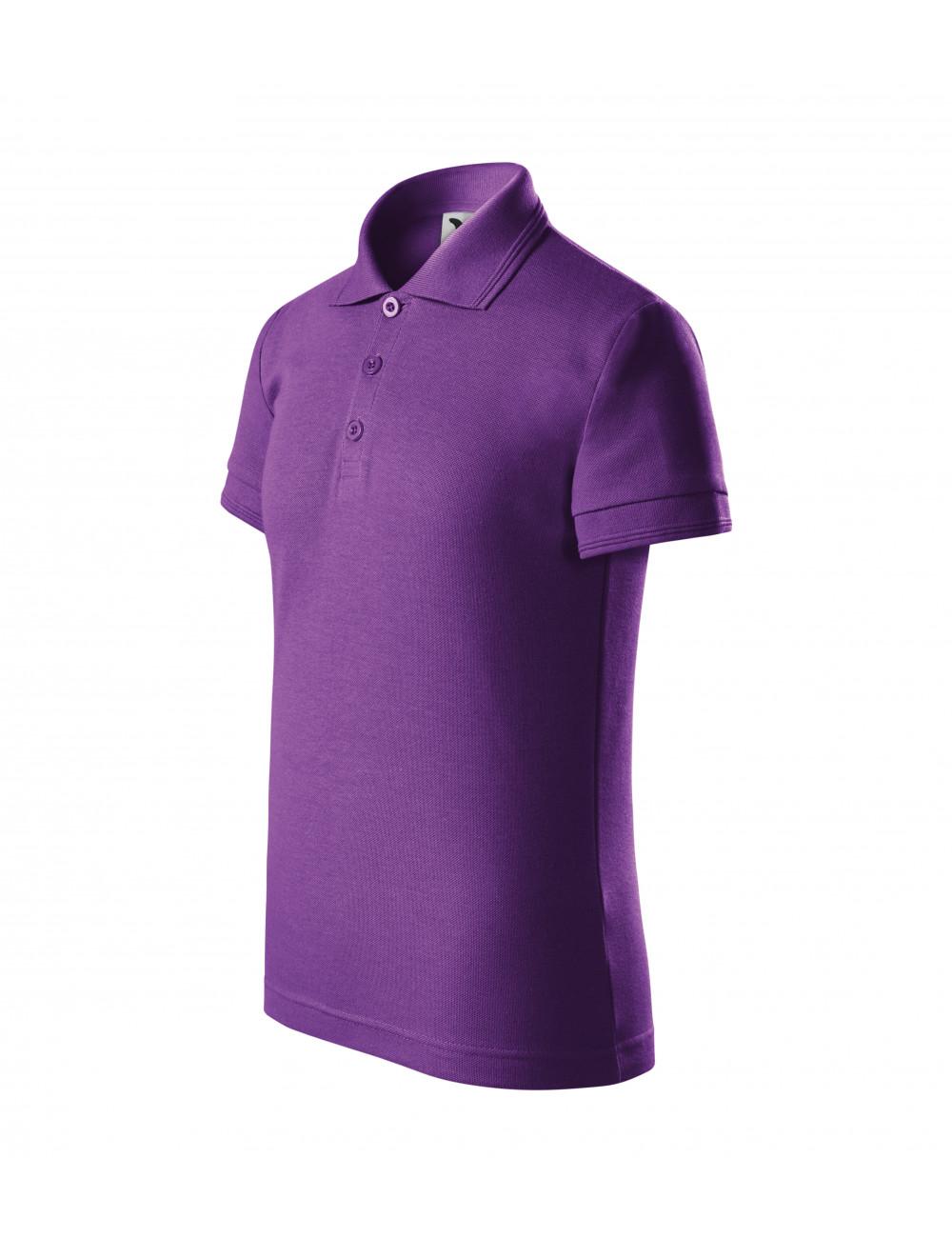 Adler MALFINI Koszulka polo dziecięca Pique Polo 222 fioletowy
