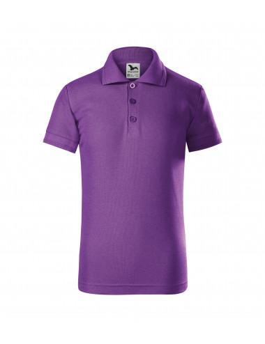 2Adler MALFINI Koszulka polo dziecięca Pique Polo 222 fioletowy