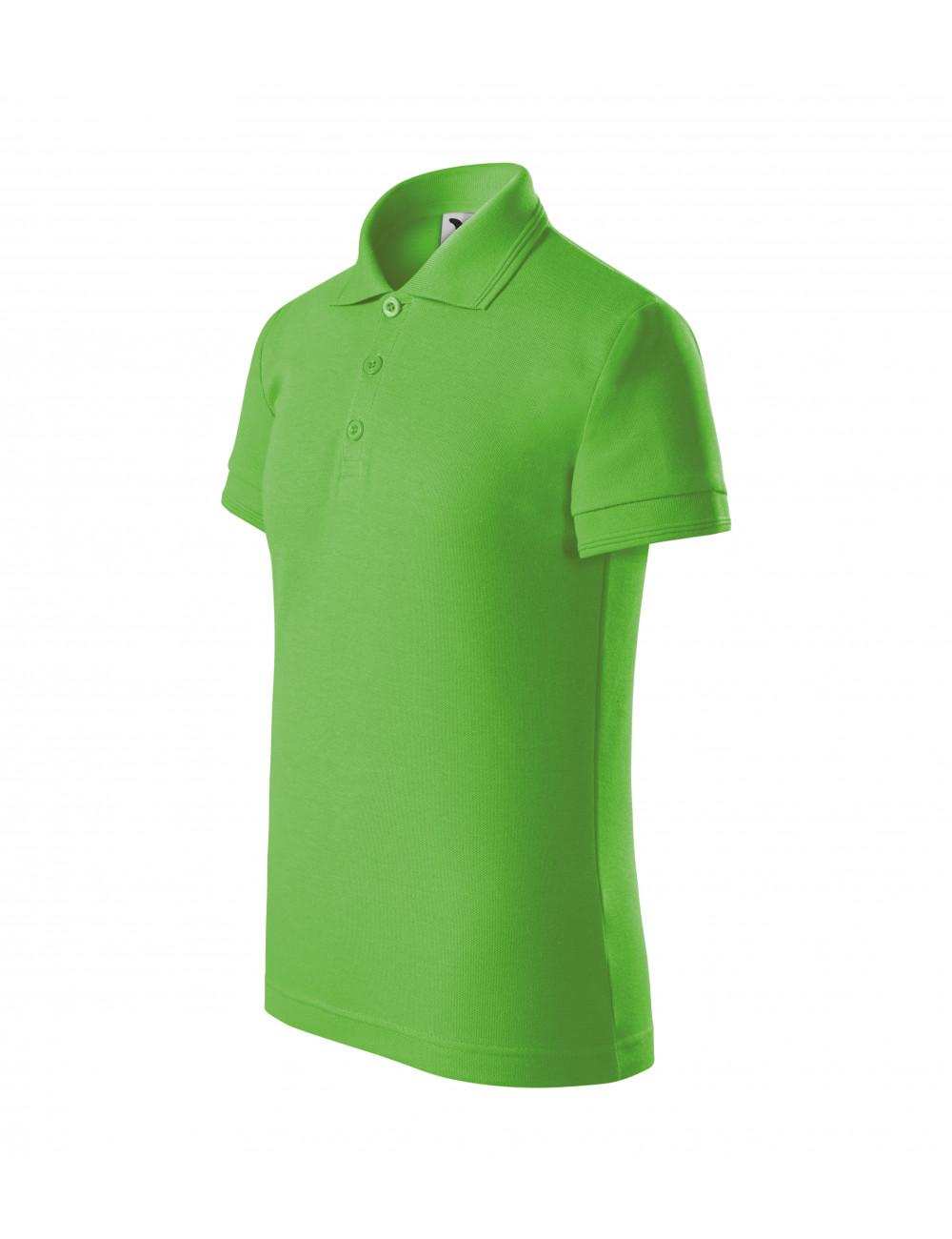 Adler MALFINI Koszulka polo dziecięca Pique Polo 222 green apple