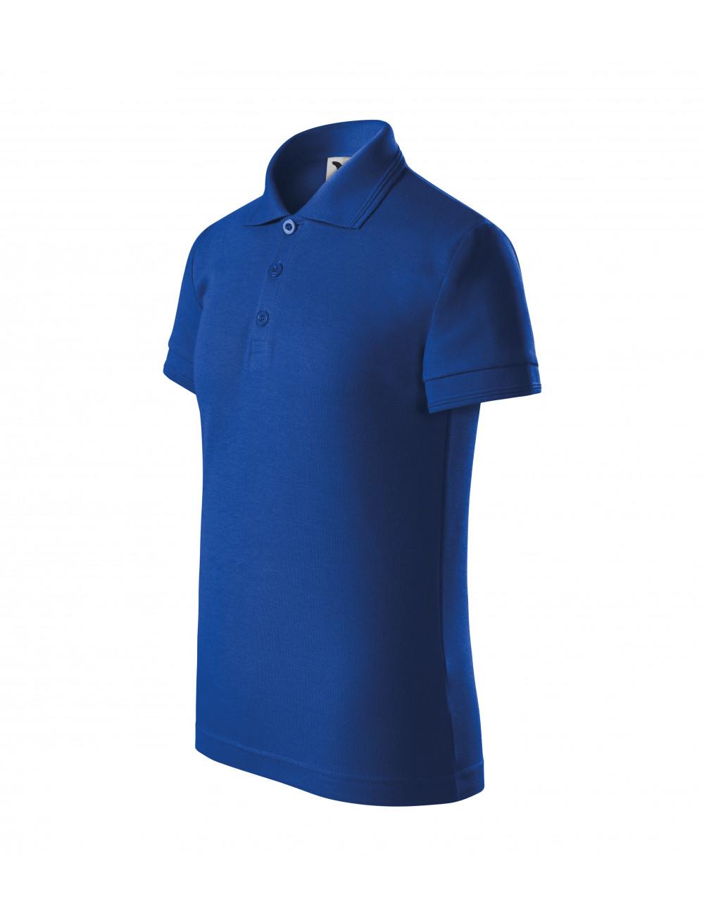 Adler MALFINI Koszulka polo dziecięca Pique Polo 222 chabrowy