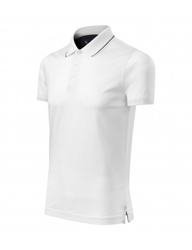 Adler MALFINIPREMIUM Koszulka polo męska Grand 259 biały