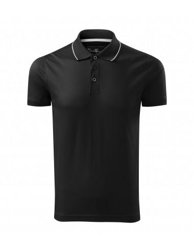 2Adler MALFINIPREMIUM Koszulka polo męska Grand 259 czarny