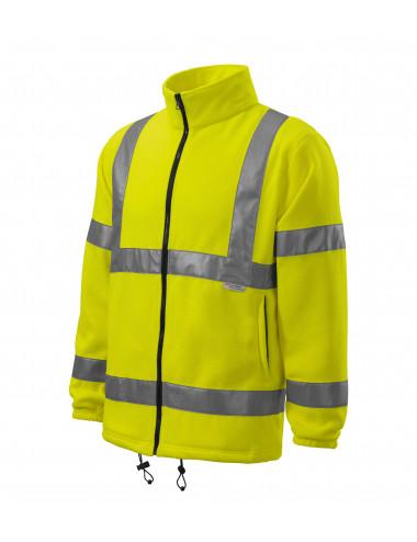 Adler RIMECK Polar unisex HV Fleece Jacket 5V1 żółty odblaskowy