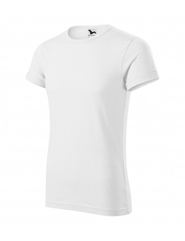 Adler MALFINI Koszulka męska Fusion 163 biały