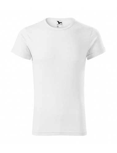 2Adler MALFINI Koszulka męska Fusion 163 biały