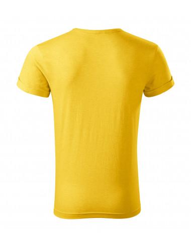 2Adler MALFINI Koszulka męska Fusion 163 żółty melanż