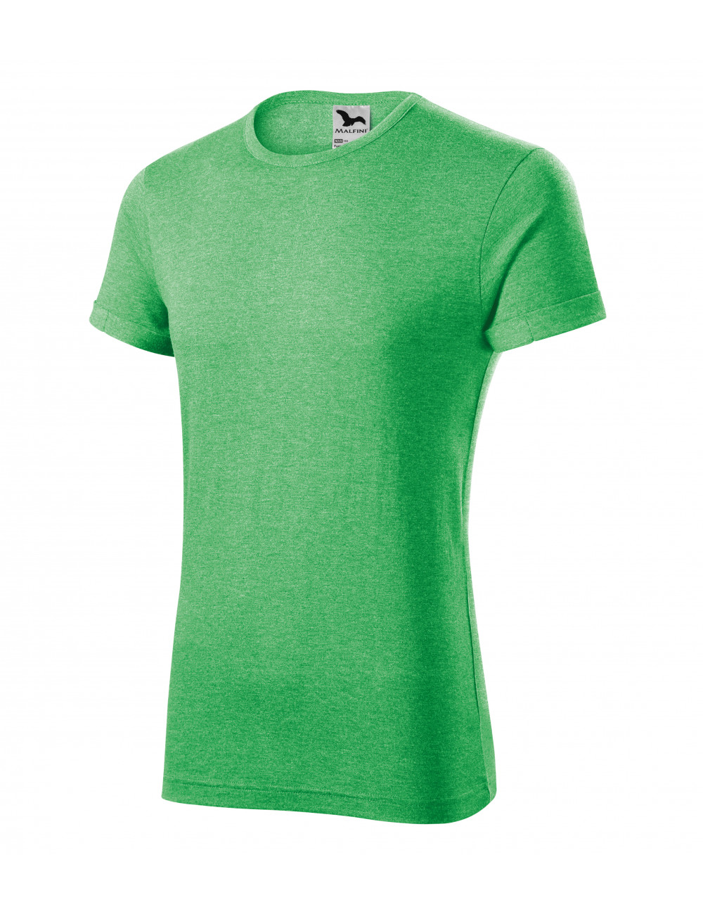 Adler MALFINI Koszulka męska Fusion 163 zielony melanż