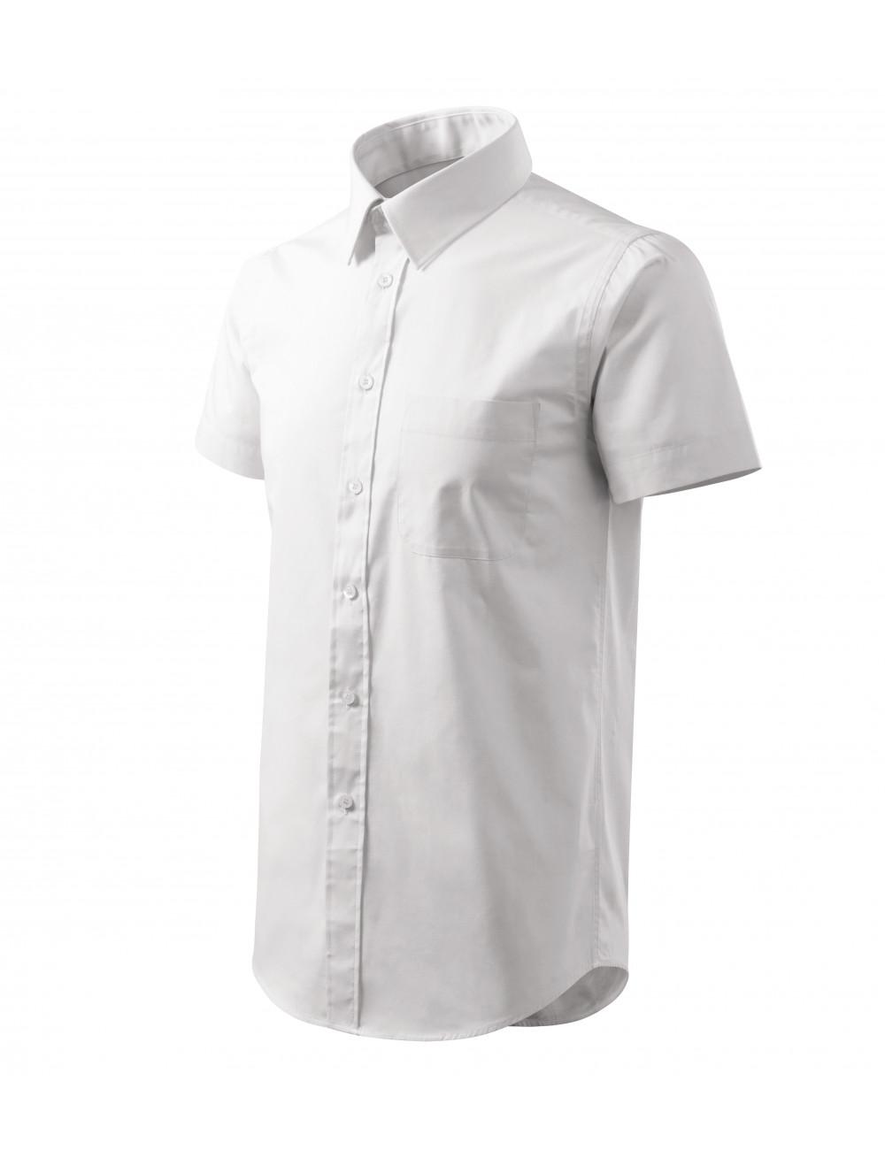 Adler MALFINI Koszula męska Chic 207 biały