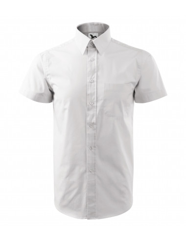 2Adler MALFINI Koszula męska Chic 207 biały