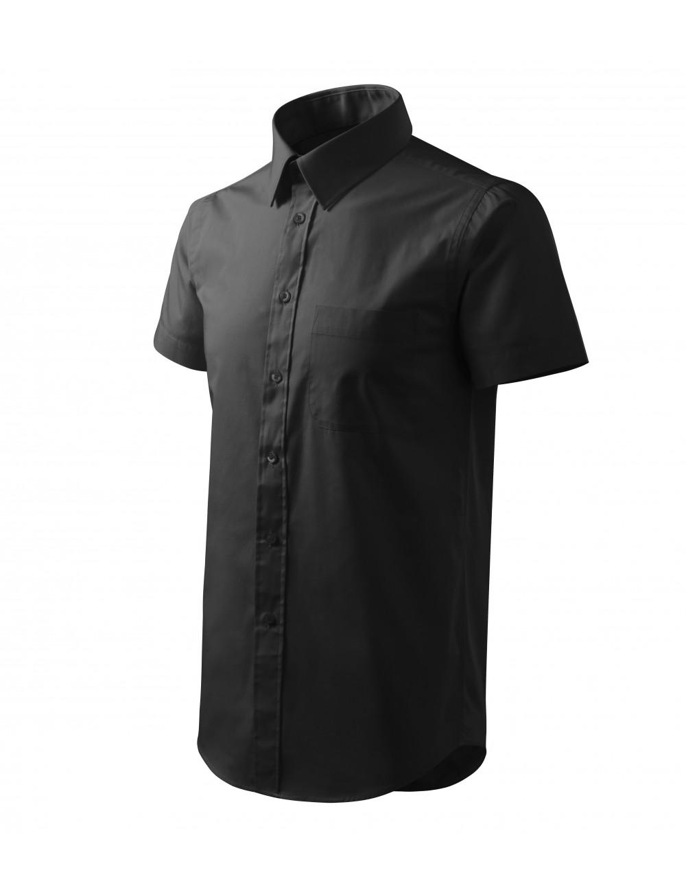 Adler MALFINI Koszula męska Chic 207 czarny