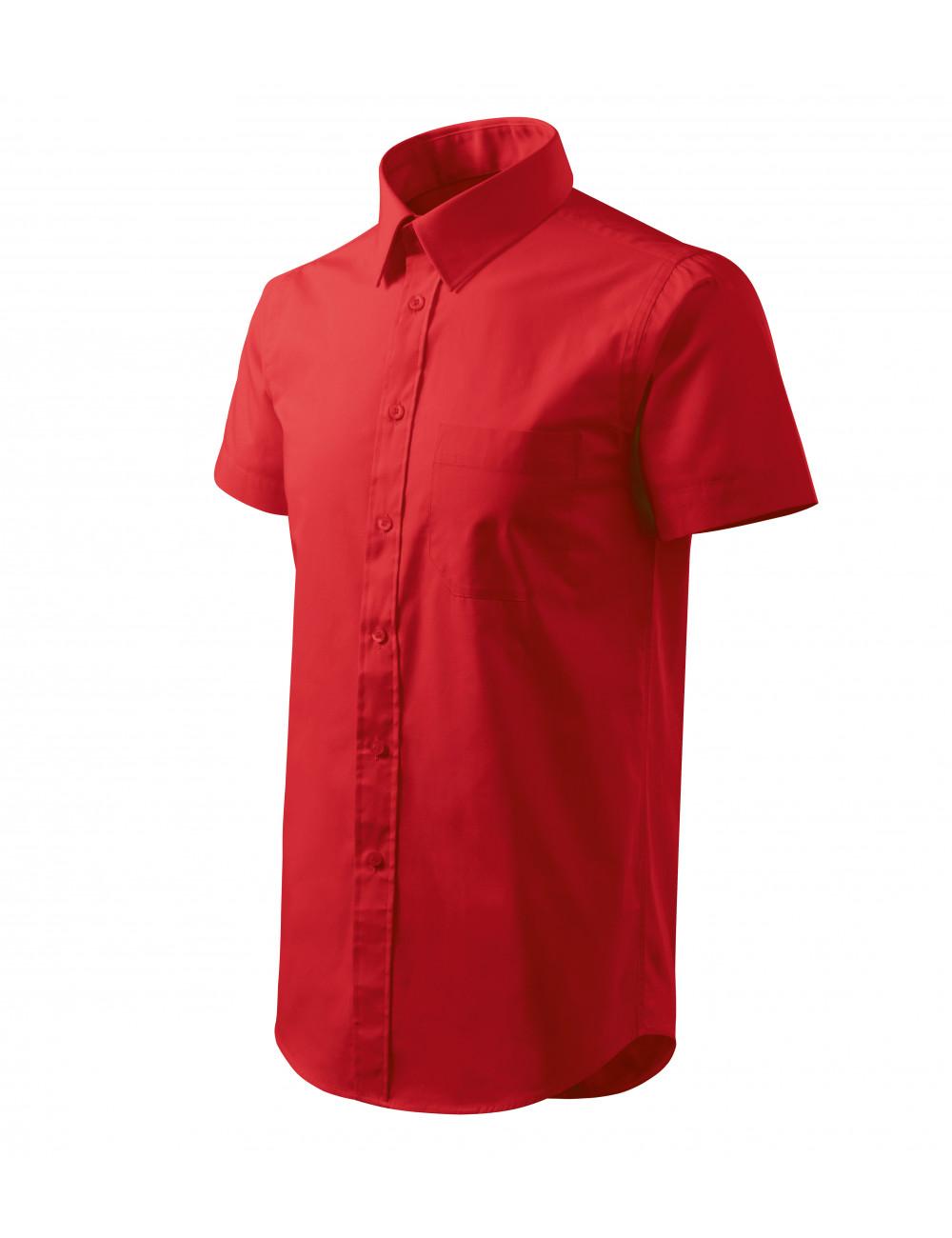 Adler MALFINI Koszula męska Chic 207 czerwony