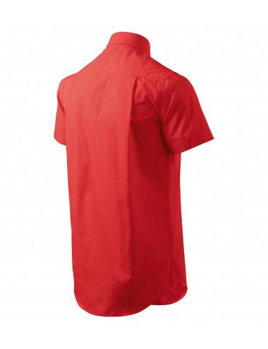 2Adler MALFINI Koszula męska Chic 207 czerwony